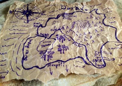 Map to Dorado